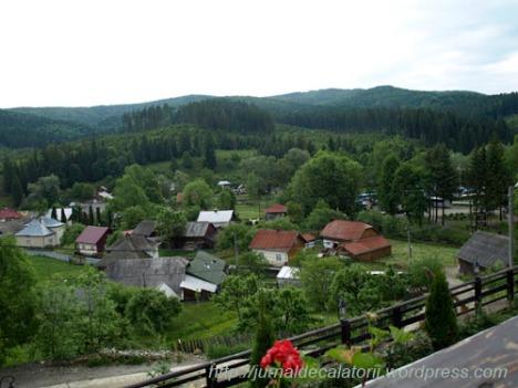 Popasul Domnesc Voronet - vedere de pe terasa